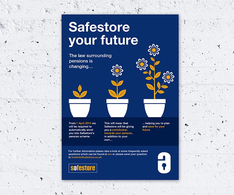 graphic design for company literature