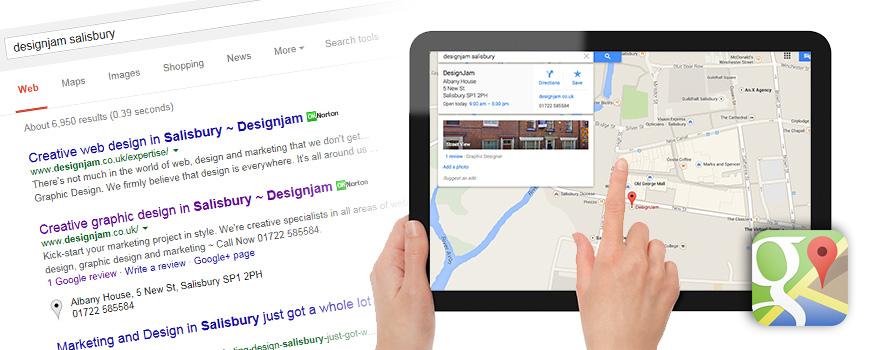 Google places for businesses