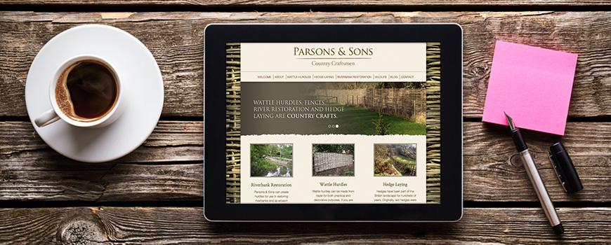 Latest edition to web design Salisbury portfolio