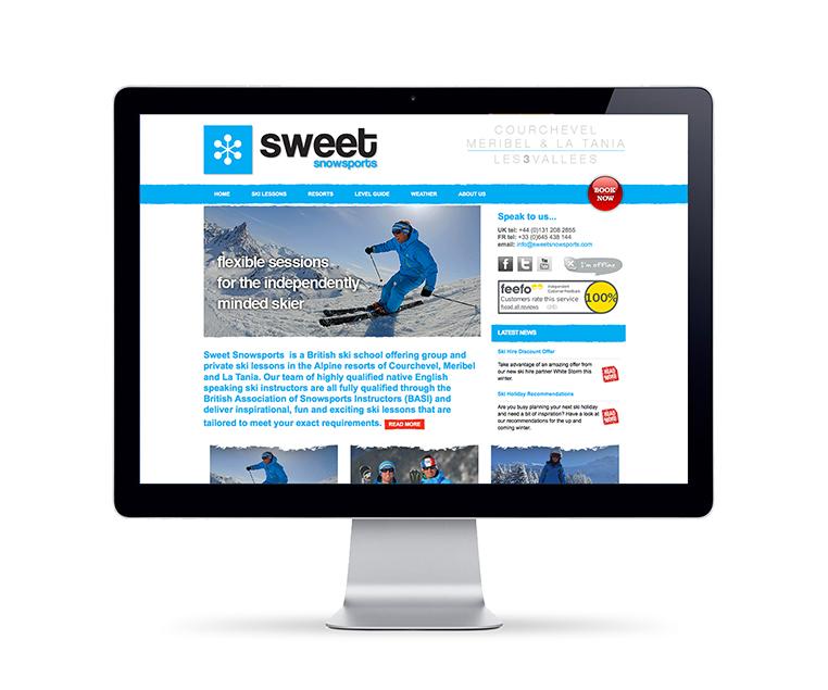 content managed website design